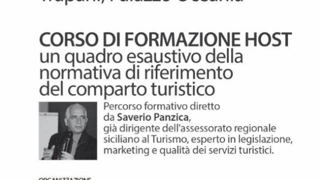 Corso formazione HOST turismo a Trapani