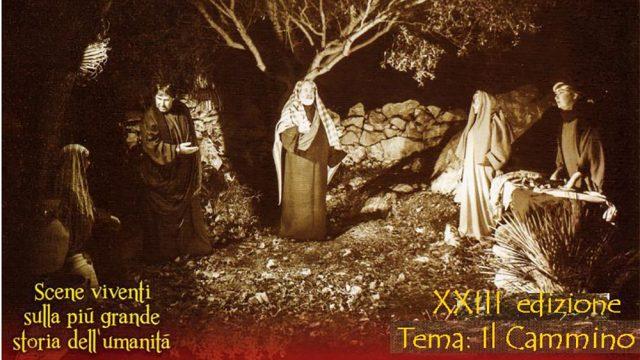 Natale a Valderice – La Bibbia nel parco